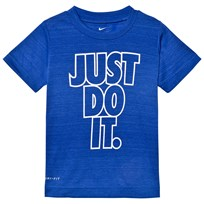NIKE Blue Just Do It Dri-Fit Tee U1U