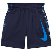 NIKE Navy and Blue Dri-Fit Legacy Shorts 695