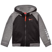 NIKE Black And Grey Air Full Zip Hoodie 023