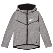 NIKE Grey Tech Fleece Zip Hoodie GEH