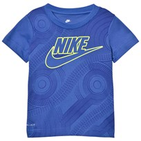 NIKE Blue Air Force 1 Futura Tee B9A