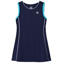 Poivre Blanc Navy Classic Tennis Dress marina blue/hawaii blue 0026