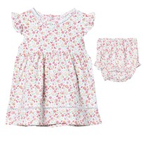 Kissy Kissy Pink Multi Floral Dress with Knickers PK