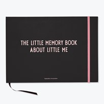 Design Letters The Little Memory Book About Little Me Rosa Pink