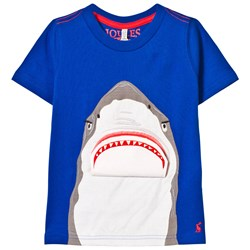 Joules Blue Shark 3D Tee