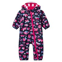 Hatley Navy Butterflies Puddle Suit Navy