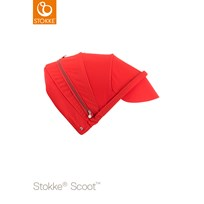 Stokke Scoot Canopy Red Rød
