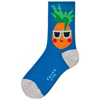 Falke Navy Pineapple Ankle Socks 6160