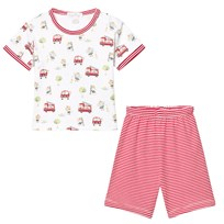 Kissy Kissy White Red Stripe Set RD