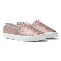 Hummel Slip-On Ballerina Glitter Jr Rose Dawn Rose Dawn