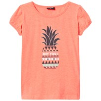 Me Too Lee 307 -Top SS Bright Coral Bright Coral