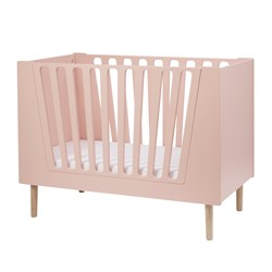 Done by Deer Baby Cot 60 X 120 Cm Powder