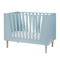 Done by Deer Baby Cot 60 X 120 Cm Blue Blue