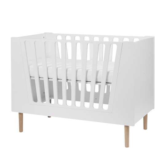 Done by Deer Baby Cot 60 X 120 Cm White White