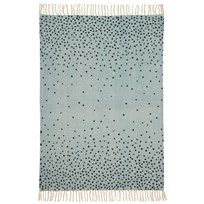 Done by Deer Rug, 90 X 120 Cm, Blue Blue