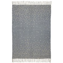 Done by Deer Rug, 90 X 120 Cm, Gold/Grey Gold/grey