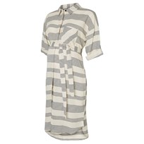 Mamalicious ML PANILLA 3/4 Woven Shirt Dress Stripe Black