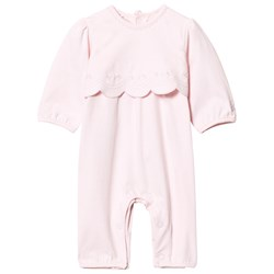 Emile et Rose Kayleigh Pale Pink Scallop One-Piece