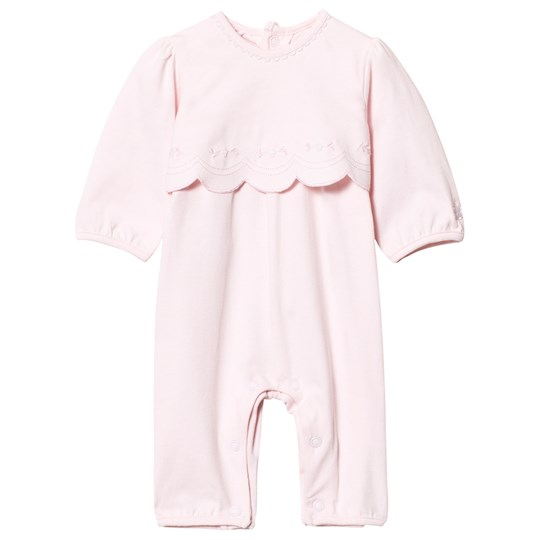 Emile et Rose Kayleigh Pale Pink Scallop One-Piece Pink