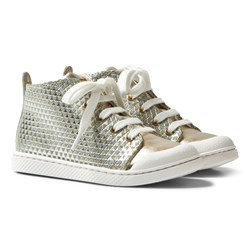 10-IS Gold TEN C Mid Lace Shoes