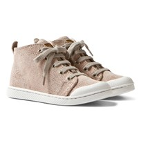 10-IS Galu Pink TEN C Mid Lace Shoes Galu Pink