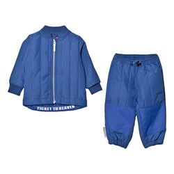 Ticket to heaven Thermo Set Jacket Trousers True Blue