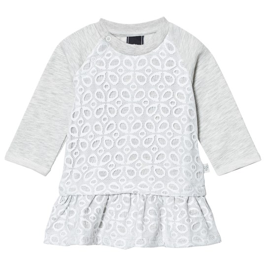 Hummel Silla Dress Whisper Grey Melange Whisper White Melange