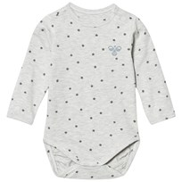 Hummel Ravi Baby Body Whisper Grey Melange Whisper White Melange