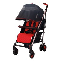 Basson Baby Pico Quilted Stroller Red PICO-RØD