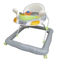 Basson Baby Walker Grey/Green Harmaa