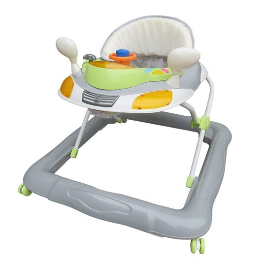 Basson Baby Walker Grey/Green Grå