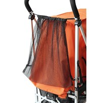 Basson Baby Shopping Bag for Stroller Black Sort