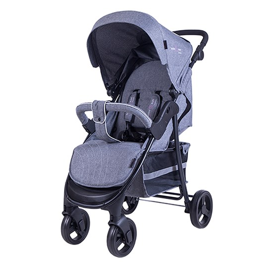 Basson Baby Scoop Sulky Grey Melange Harmaa