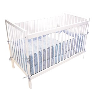 Image of Basson Baby Bed Ivy White 60x120 (3014543369)