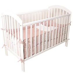 Basson Baby Frida Bed with Headboard White