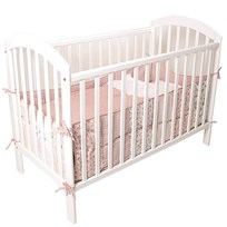 Basson Baby Frida Bed with Headboard White Valkoinen