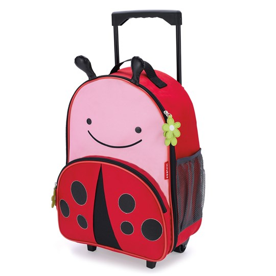 Skip Hop Zoo Kid's Rolling Luggage Ladybug Multi