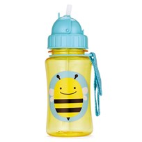 Skip Hop Zoo Straw Bottle Bee Yellow