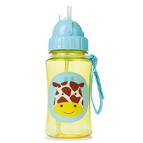 Skip Hop Zoo Straw Bottle Giraffe Multi