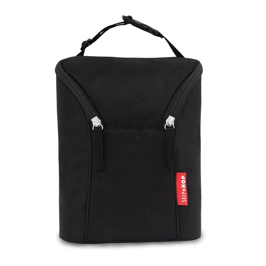 Skip Hop Double Bottle Bag Black
