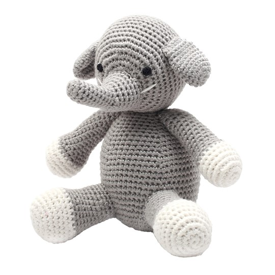 natureZOO Sir Elephant Grey Teddy Bear Grå