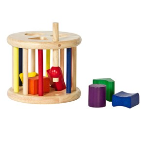 Image of Nic Wooden Sort & Roll Toy (2743792999)