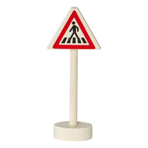 Image of Nic Traffic Sign – Caution Pedestrian Crossing (2920303219)