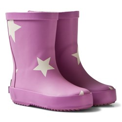 Ticket to heaven Rubber Boots Violet Rose