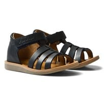 Pom Dapi Poppy Strap Softy Sandals Blå Marine