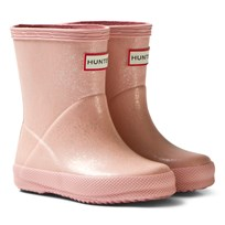 Hunter Pink Sand Kids First Glitter Boots PSN