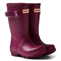 Hunter Bright Violet Orignial Kids Boots BVI