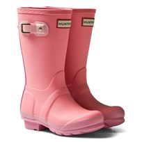 Hunter Pink Original Kids Contrast Boots PFU
