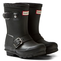 Hunter Black Kids Biker Boots BLK