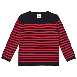 FUB Sweater Navy/Red